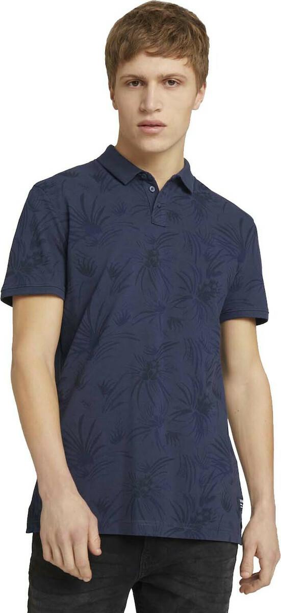 20210420111929 tom tailor printed polo mplouza andrikh 1025318 26696 26696 navy blue thistle print