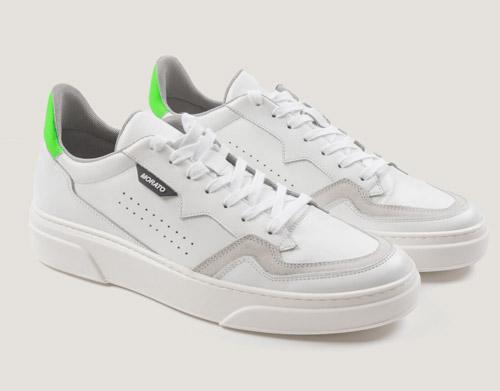 sneakerustleinpellecondettagliofluo scarpe antonymorato MMFW01381 LE300001 1000 02 scaled 1