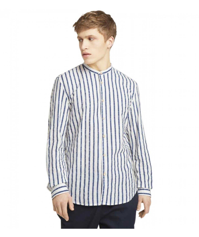 tom tailor men shirt 1025146 26697 white 1